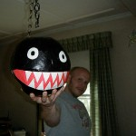 Chain Chomp Pinata idea by Heather & Joe - this is awesome!