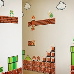 Awesome Mario Peel & Stick Wall Stickers