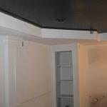 Painted the ceiling very dark blueish black