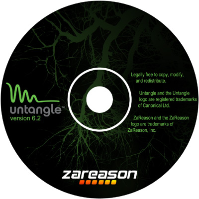 Untagle CD Label Design