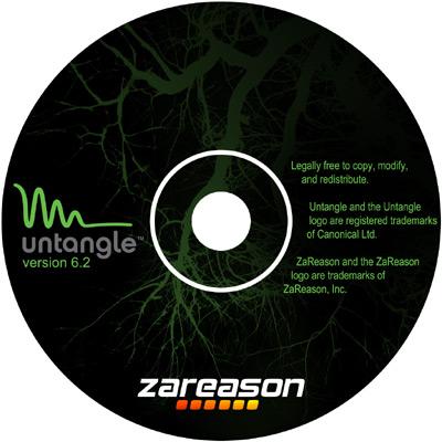 Untagle CD Label Design