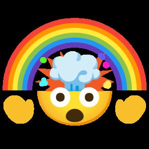 Mind Blown + Rainbow